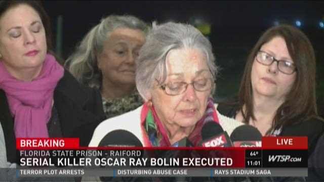 946090 as well Story furthermore 77825596 besides Convicted Killer Of 3 Women Executed In Florida 2260 also Oscar Ray Bolin Rosalie Martinez Supports Husband At His Latest Trial For 1986 Fatal Stabbing Mail Online. on oscar bolin story