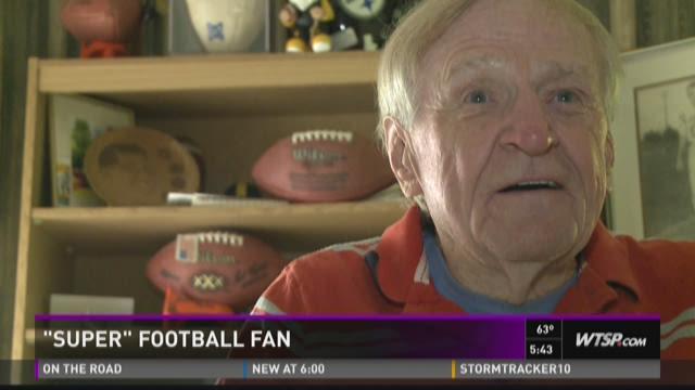 Super fan to attend his 50th Super Bowl