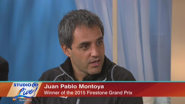 Talking with Juan Pablo Montoya