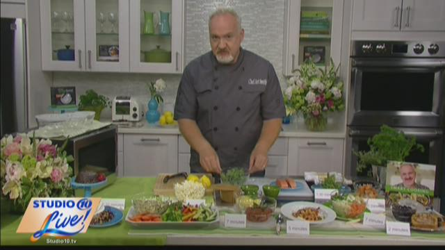 Award-Winning Chef Art Smith with healthy recipes