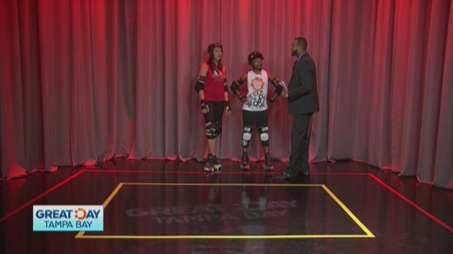Tampa Roller Derby rolls into the studio