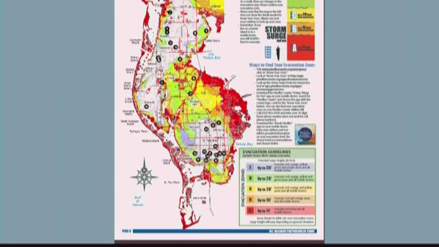 Pinellas County Announces Zone A Mandatory Evacuation