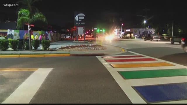 Rainbow crosswalk to honor Pulse shooting victims