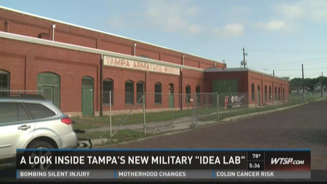 Defeating ISIS with Tampa's new 'idea lab'