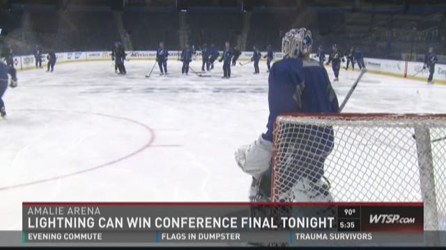 Lightning can win Conference Final tonight