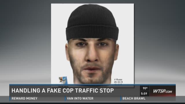 Handling a fake cop traffic stop