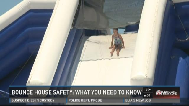 TradeWinds safety for massive inflatable slide