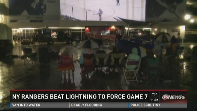 Rangers beat Lightning to force Game 7