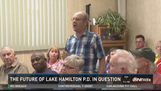 Future of Lake Hamilton PD in question
