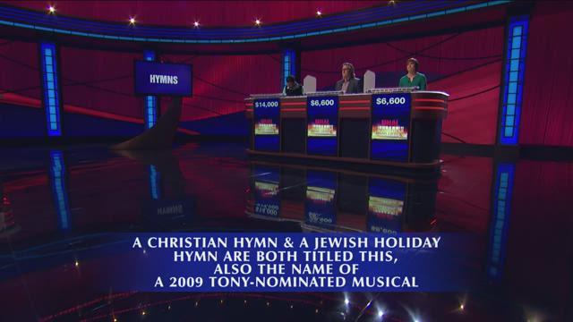 'Kinky Boots' Final Jeopardy! answer