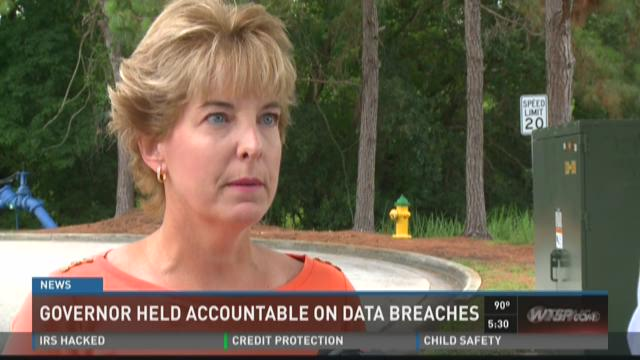 Governor held accountable on data breaches