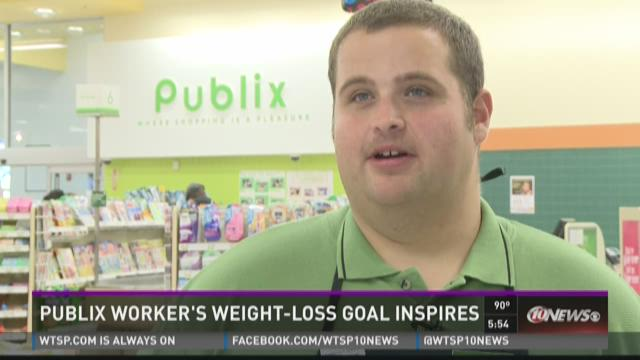 Publix worker's weight loss an inspiration to others