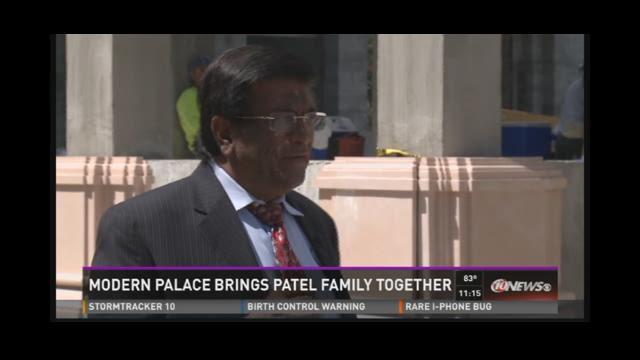 Modern palace brings Patel family together