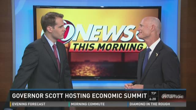 Governor Scott hosting economic summit