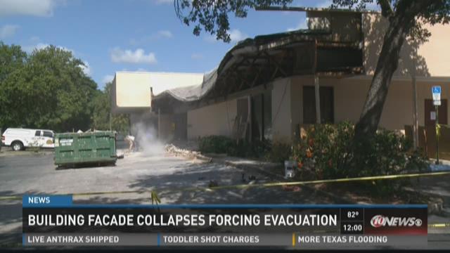 Roof collapses at St. Pete Quest Diagnostics