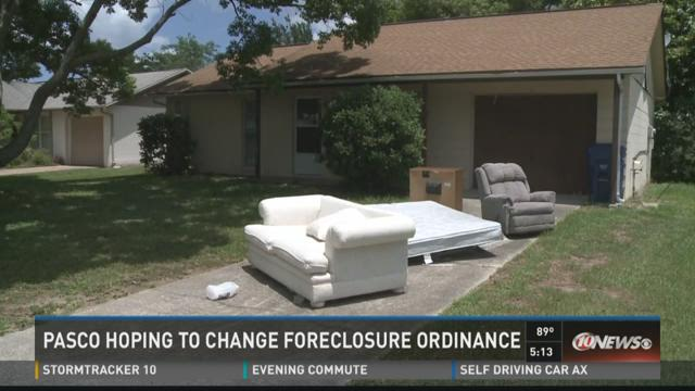 Pasco wants to change foreclosure ordinance