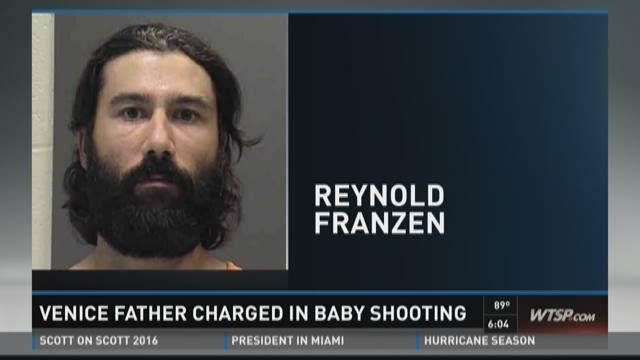 Venice father charged in baby shooting