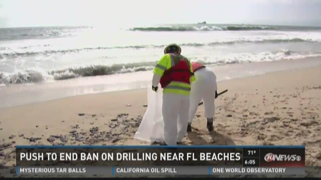 Push to end ban on drilling near FL beaches
