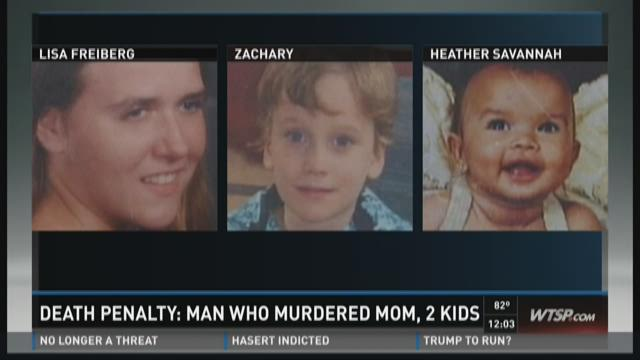 Death sentence for man who killed girlfriend, 2 kids