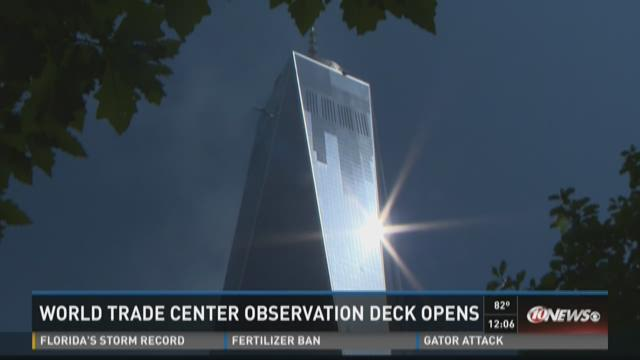 One World Trade Center Observatory opens