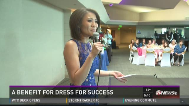 WTSP's Dion Lim emcees Dress for Success event