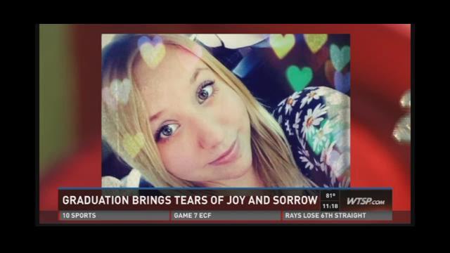 Graduation brings tears of joy and sorrow
