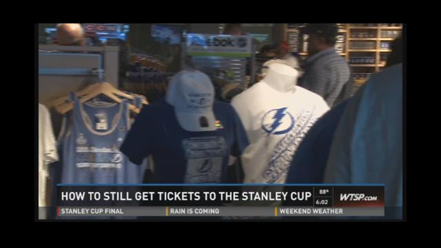 How to still get tickets to the Stanley Cup