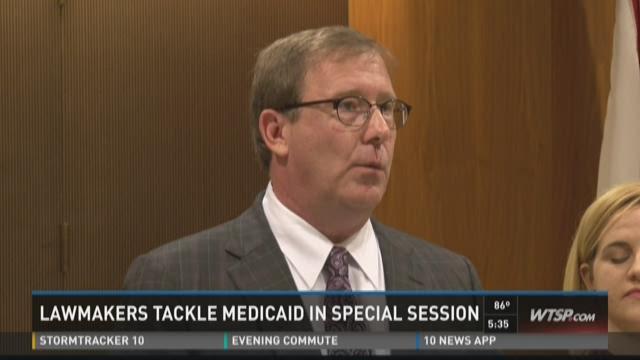 Florida lawmakers discuss Medicaid, budget