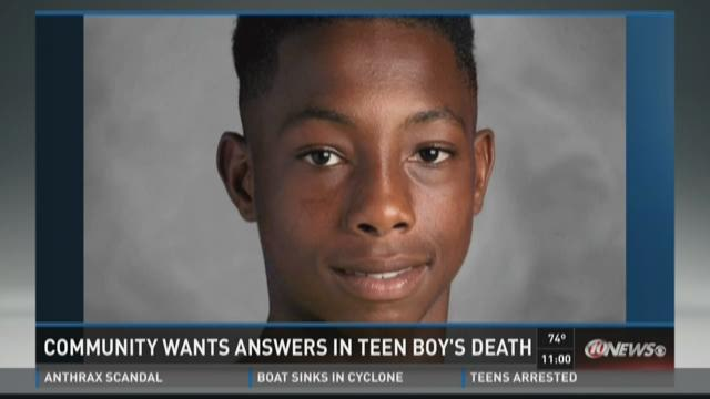 Police seeking information in teen's shooting