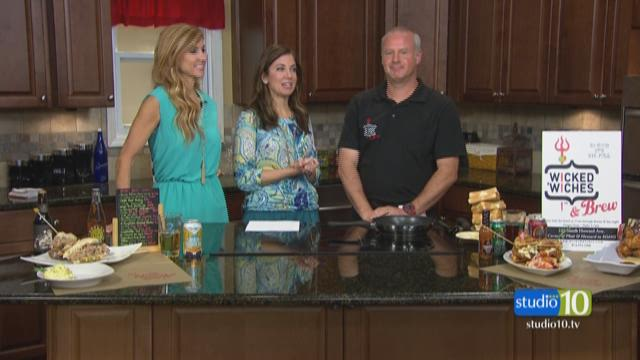 Wicked Witches takes over Studio 10's kitchen