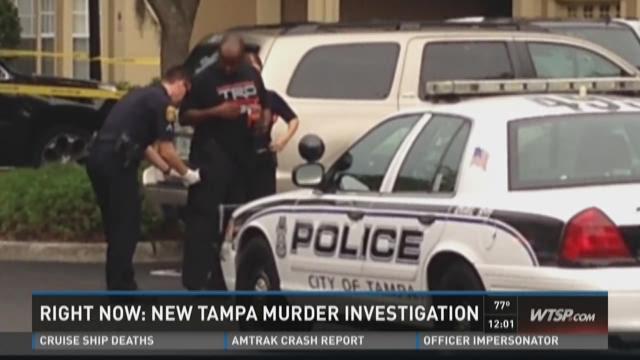 New Tampa murder investigation