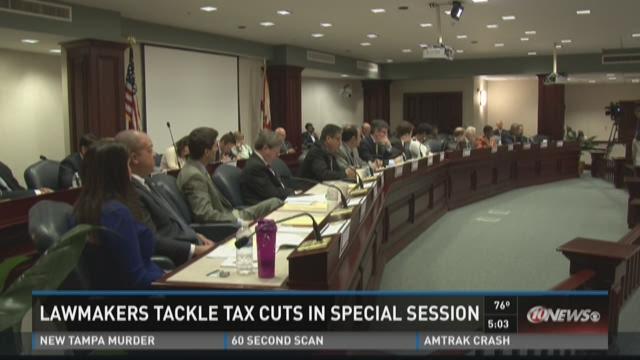 House offers tax cut bill