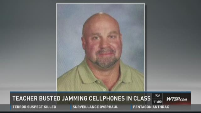 Teacher jams students' phones, gets suspended