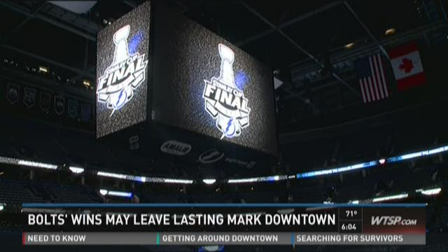 Bolts' wins may leave lasting mark Downtown