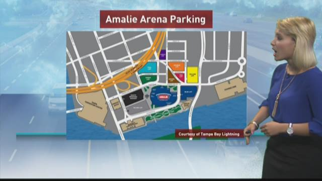 Traffic, parking advice for Lightning game