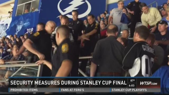 Stanley Cup security tightened after recent incidents