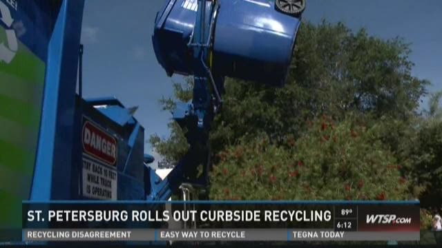 St. Petersburg rolls out curbside recyling