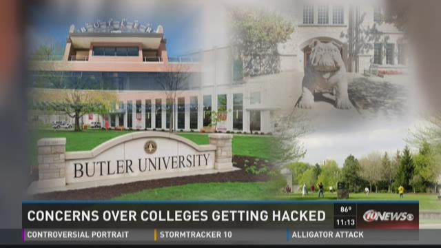 Concerns over colleges getting hacked