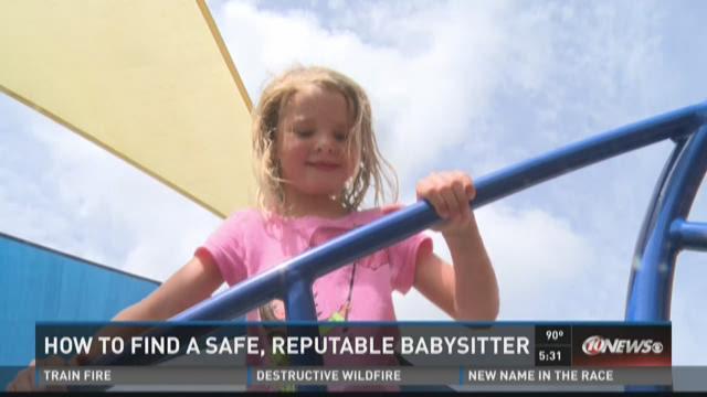 Mothers' tips for finding safe babysitter