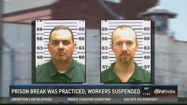 Dozen workers on leave after N.Y. prison escape