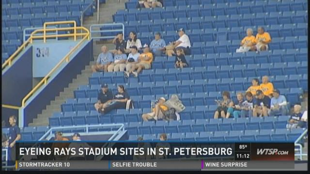 St. Pete might still be option for Rays