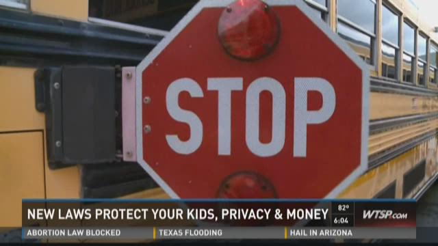 New laws protect your kids, privacy & money