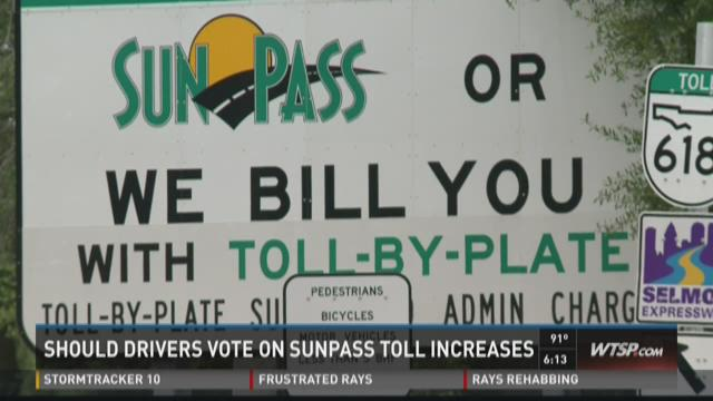 Should drivers vote on Sunpass toll increases