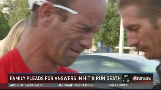 Family pleads for answers in hit-and-run death