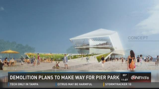 Demolition plans to make way for Pier Park