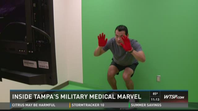Inside Tampa's military medical marvel