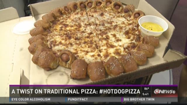 WTSP tastes Hot Dog Pizza