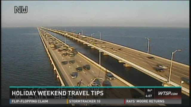 Holiday weekend travel tips