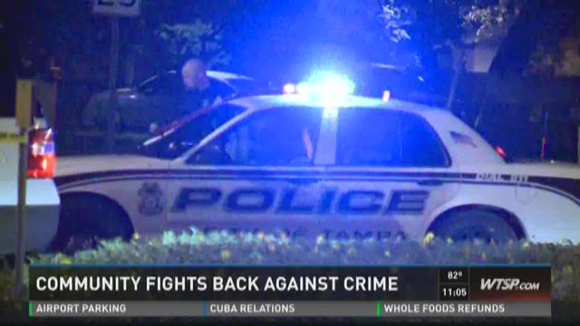 Community fights back against crime