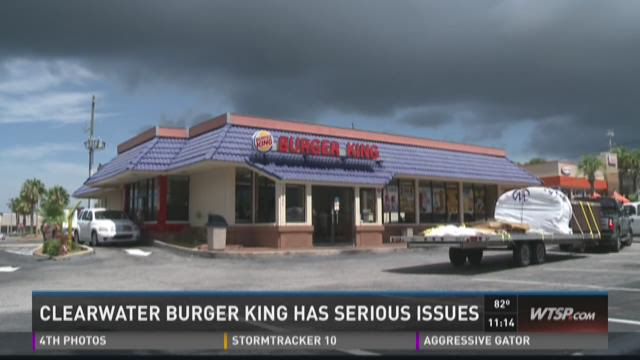 Clearwater Burger King has serious issues